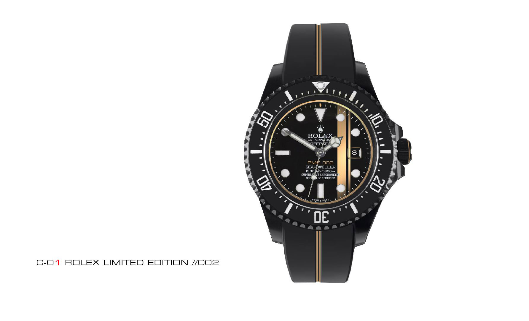 Rolex Lotus C01 Watch Black